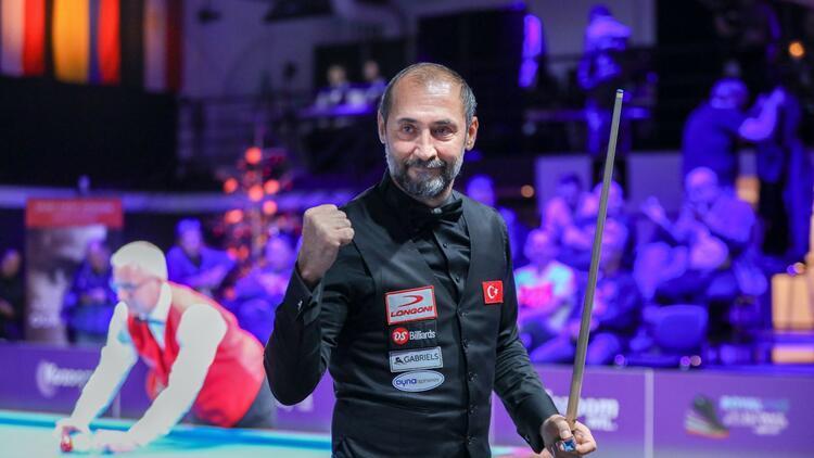Bilardoda Türkiye şampiyonu Semih Saygıner