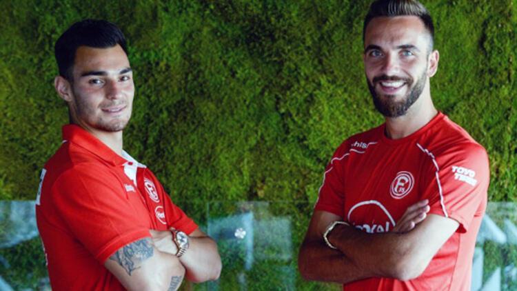 Fortuna Düsseldorflu Kaan Ayhan ve Kenan Karaman'dan transfer haberlerine yanıt