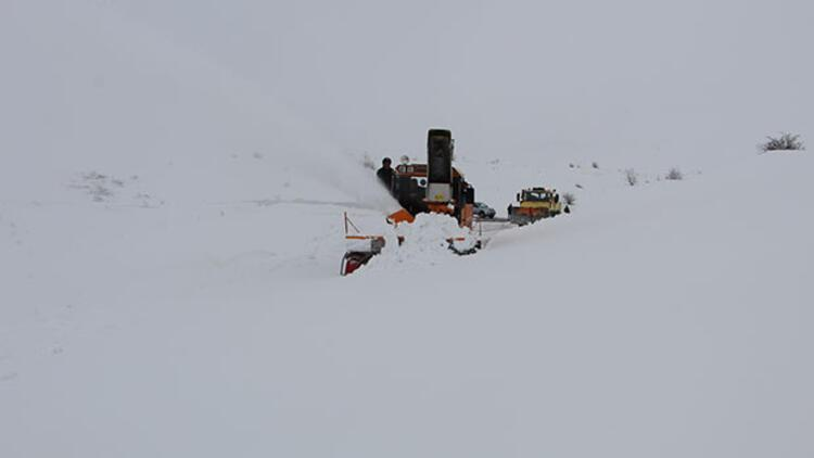 Elazığda 42 köye kar nedeniyle ulaşım sağlanamıyor