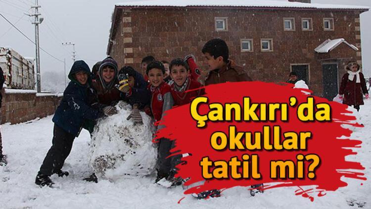 7 Ocak Salı günü Çankırı'da okullar tatil oldu mu? Yarın Çankırı'nın hangi ilçelerinde okullar tatil?