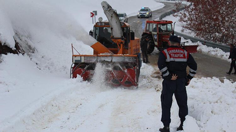 Elazığda 23 köye kar nedeniyle ulaşım sağlanamıyor