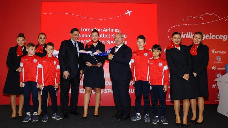 Corendon Airlines, Altınordu'nun 'Geleceğe Uçuş' sponsoru oldu
