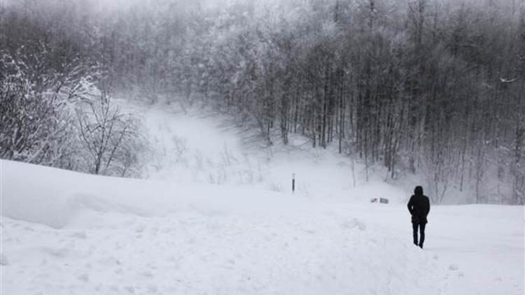 Nevşehir'in Acıgöl ilçesinde eğitime kar engeli