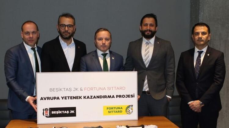 Beşiktaş'tan Fortuna Sittard Kulübü ile iş birliği