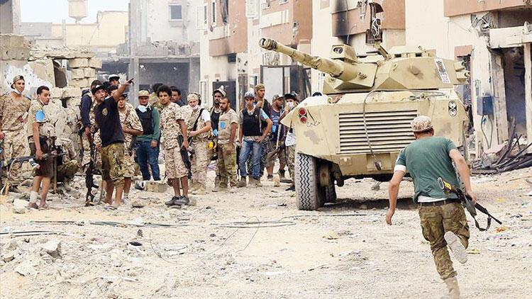 LibyasokaklarıTürkiye'yi sevinçle karşıladı