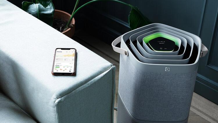 Hava kalitesini ölçüp sessizce temizleyen teknoloji
