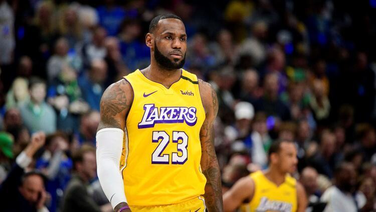 NBA'de gecenin sonuçları | Lakers galibiyet serisini 9 maça çıkardı!