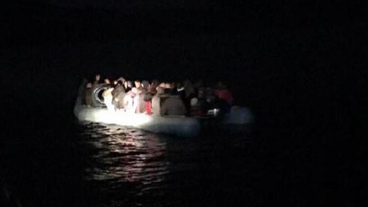 İzmir'in 4 ilçesinde 253 kaçak göçmen yakalandı
