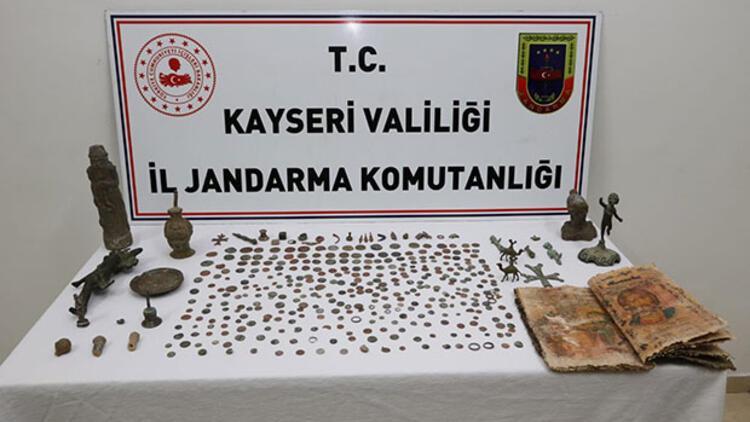 Tarihi eser operasyonunda 10 kişi gözaltına alındı