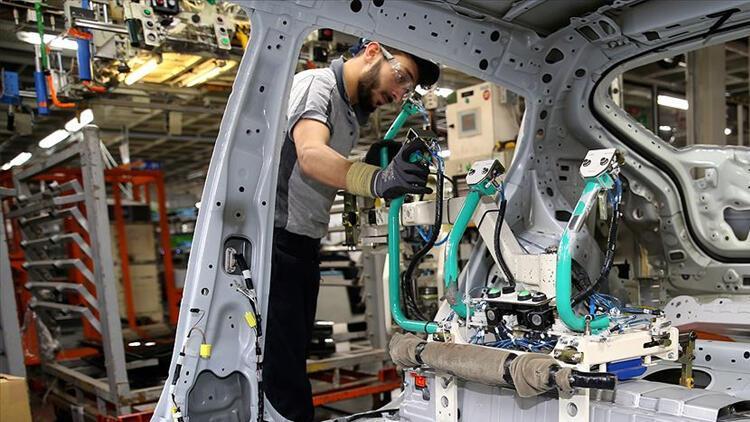Sanayi üretimi 2019'un son çeyreğinde güçlü büyümeye işaret ediyor