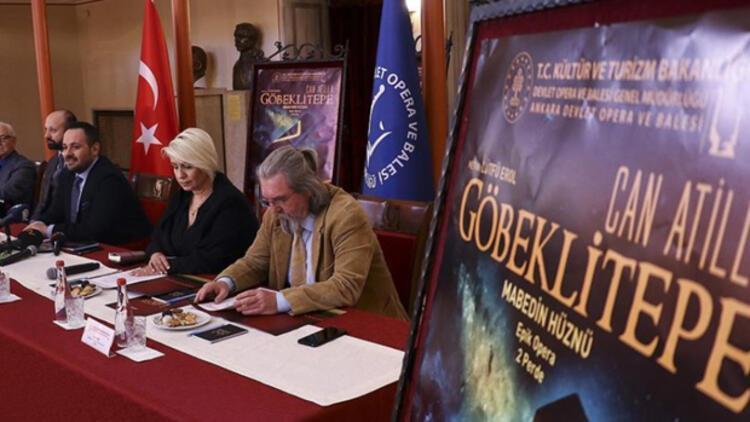 'Göbeklitepe Operası'nın dünya prömiyeri 19 Şubat'ta
