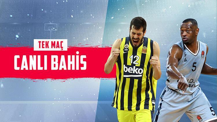 Fenerbahçe Beko, Ataşehir'de ASVEL'i ağırlıyor! 10 sayı farkla biterse iddaa'da...