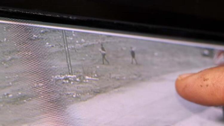 Kayseri'de çocuk parkının yakılması güvenlik kamerasında