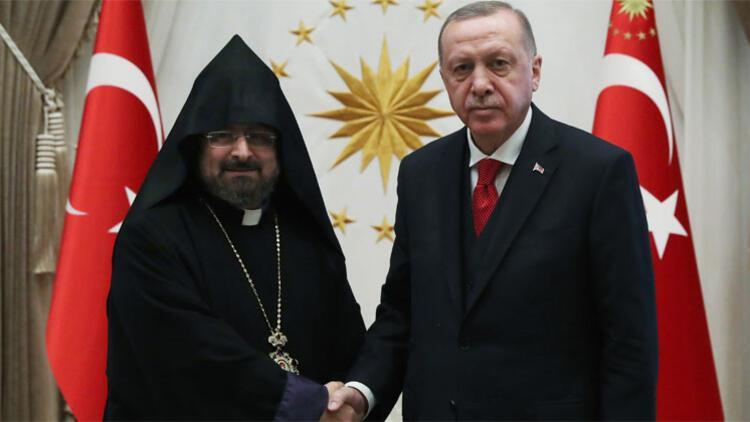 Cumhurbaşkanı Erdoğan, Maşalyan'ı kabul etti