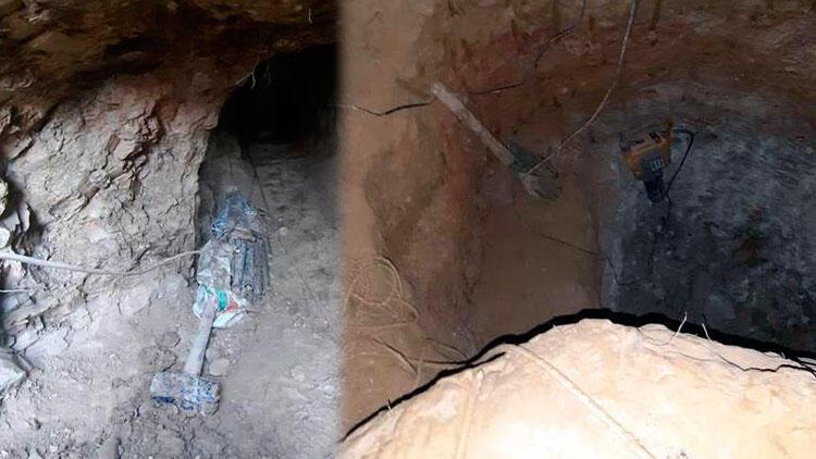 Dedikodu üzerine 10 metrelik tünel kazmışlar! Kıskıvrak yakalandılar