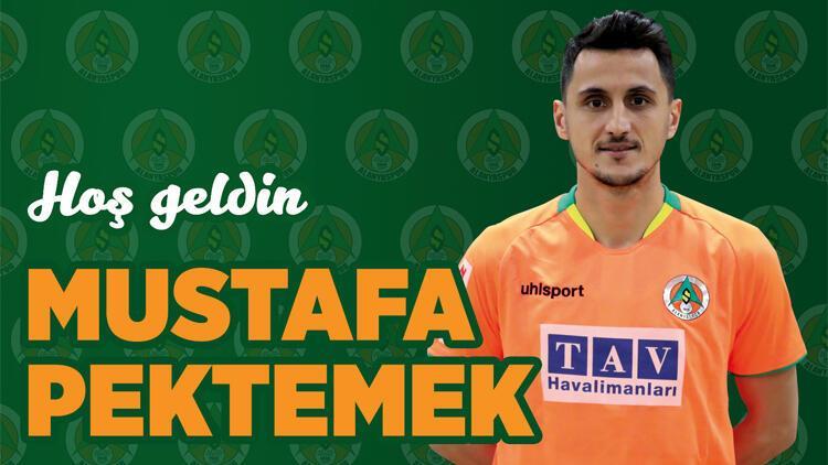 Son dakika transfer haberleri | Mustafa Pektemek resmen Alanyaspor'da