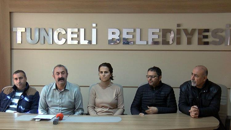Tunceli Belediyesi çalışanlarının maaşına haciz