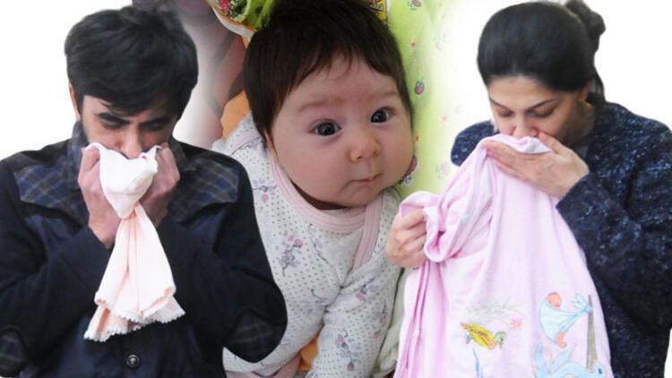 Yıkıldılar! 2 aylık Adra Liya taburcu edildiği gün öldü