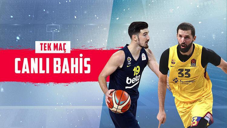 Fenerbahçe Beko'nun Ataşehir'de konuğu Barcelona! Galibiyetlerine iddaa'da...