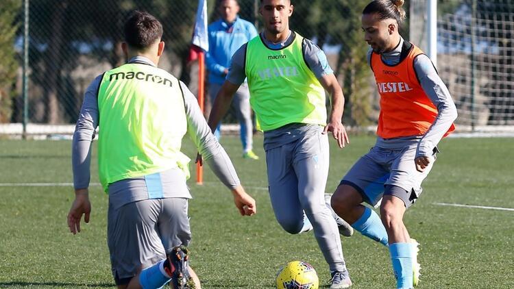 Trabzonspor'da Kasımpaşa mesaisi başladı