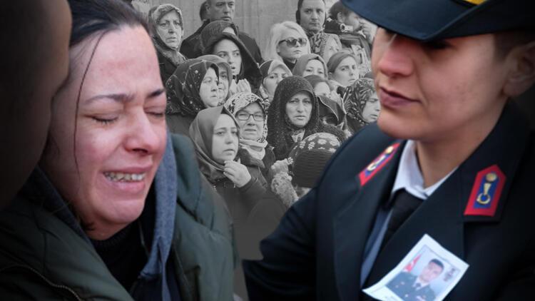 Şehit Binbaşı Şevket Tombul'a en acı veda... Gözyaşlarıyla uğurlandı