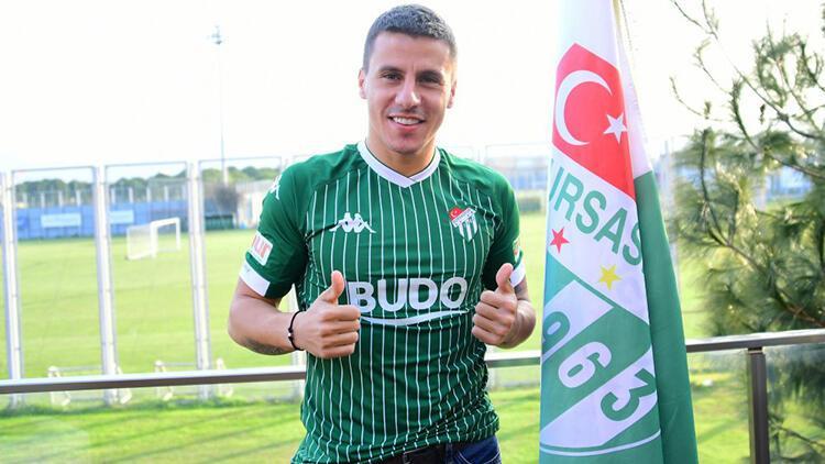 Bursaspor, Emrullah Şalk'ı sezon sonuna kadar kiraladı