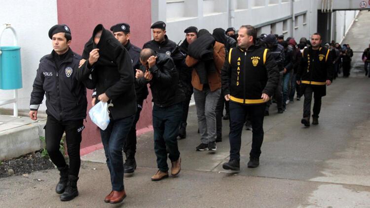 Sahte 'polis, savcı, hakim' çetesine 17 tutuklama
