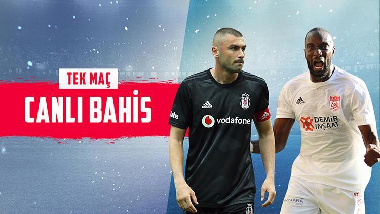 Süper Lig'de haftanın maçına Misli.com'da CANLI BAHİS oyna! Beşiktaş'ın Sivasspor'a karşı iddaa oranı...