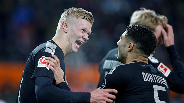 Augsburg 3-5 Borussia Dortmund