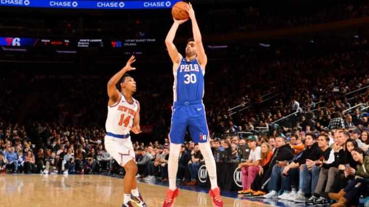 Furkan Korkmaz'dan 17, Cedi Osman'dan 16 sayı | NBA'de maç sonuçları