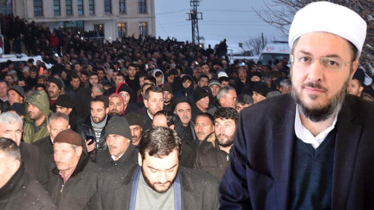 Bitlis'te silahlı saldırıya uğramıştı! Abdulkerim Çevik'in cenazesine 10 bin kişi katıldı