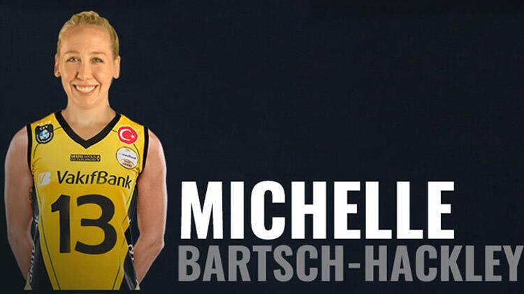 VakıfBank Michelle Bartsch-Hackley'i transfer etti