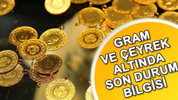Haftanın ilk günü çeyrek altın ne kadar oldu? Canlı tam, yarım, gram fiyatları (20 Ocak 2020)