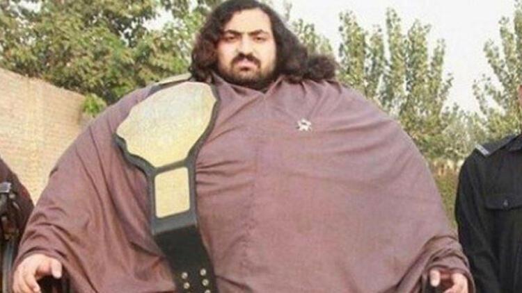 444 kiloluk 'Pakistanlı Hulk' eş arıyor ama bir şartı var!