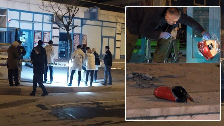 Arnavutköy'de bir markete EYP'li saldırı! Özel Harekat polisleri sevk edildi