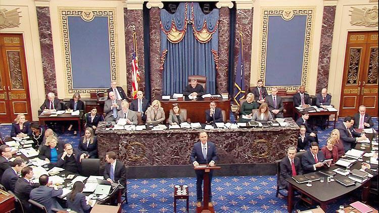 ABD Senatosu'nda yargılama başladı