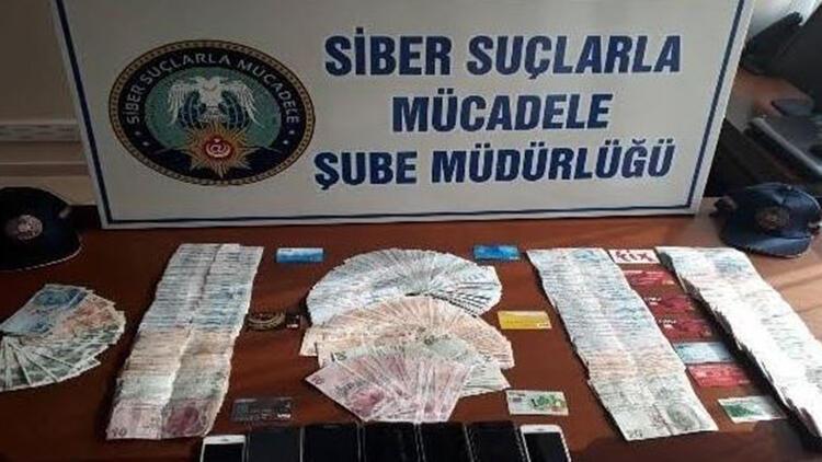 Kars merkezli 6 ilde '0850'li dolandırıcılık: 19 gözaltı