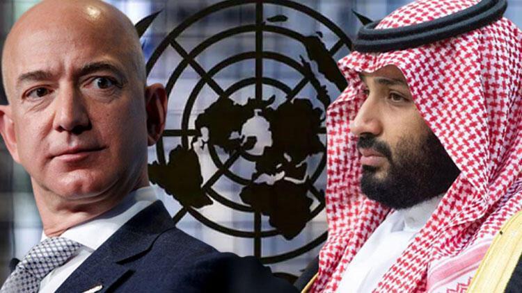Son dakika haberi... BM açıkladı: Suudi Prens, Jeff Bezos'un hacklenmesine karışmış olabilir