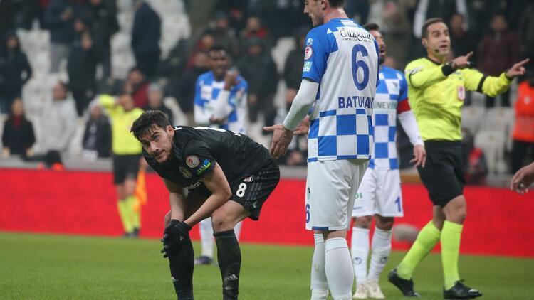 Beşiktaş 2-3 Erzurumspor | Maçın golleri ve özeti