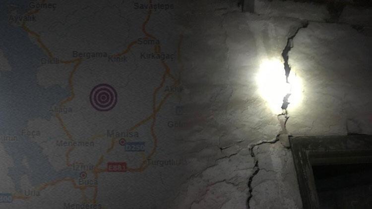 Son dakika haberi! Manisa'da deprem... İstanbul'da da deprem hissedildi