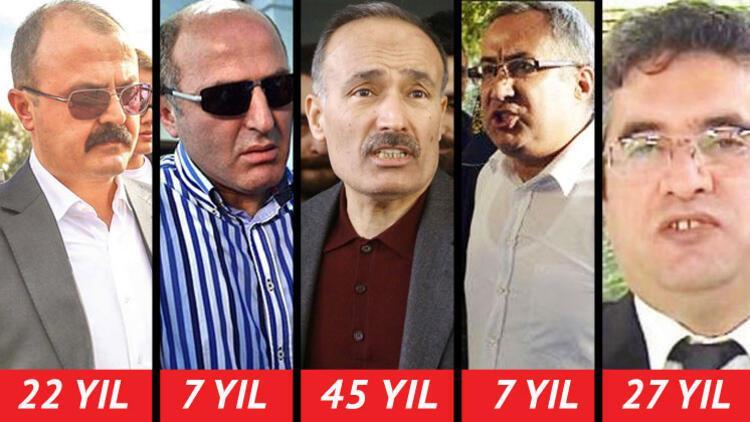 VIP dinlemeden 45 yıl ceza