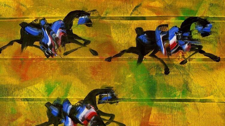 Uçan atların ressamı Fevzi Karakoç