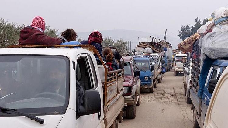 Son dakika haberi: Son 48 saatte 36 bin sivil daha Türkiye sınırı yakınlarına göç etti