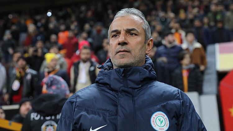 Çaykur Rizespor Teknik Direktörü İsmail Kartal'dan hakem tepkisi!