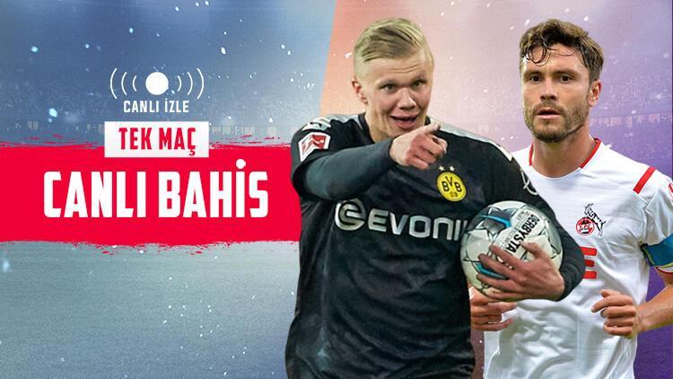 Erling Haaland'ı Misli.com'da CANLI İZLE! Dortmund'un iddaa'da galibiyetine...