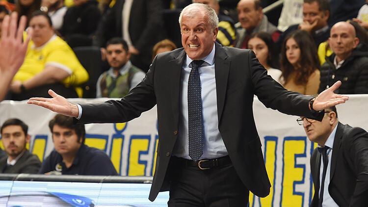 """Fenerbahçe'nin başantrenörü Zeljko Obradovic: """"Savunma seviyemiz çok yüksekti"""""""