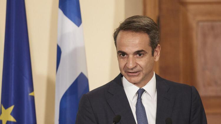 Yunanistan Başbakanı Miçotakis'ten geçmiş olsun mesajı