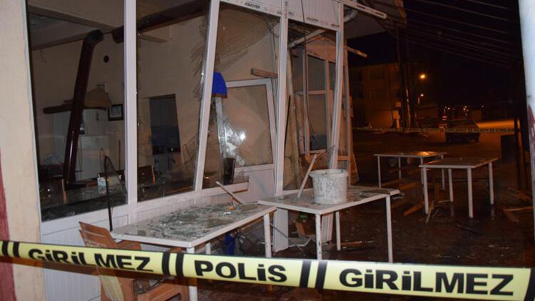 Konya'da lokantada patlama