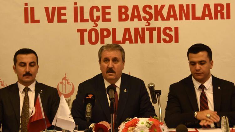 """BBP Lideri Destici: """"Gün, birlik olma günüdür"""""""