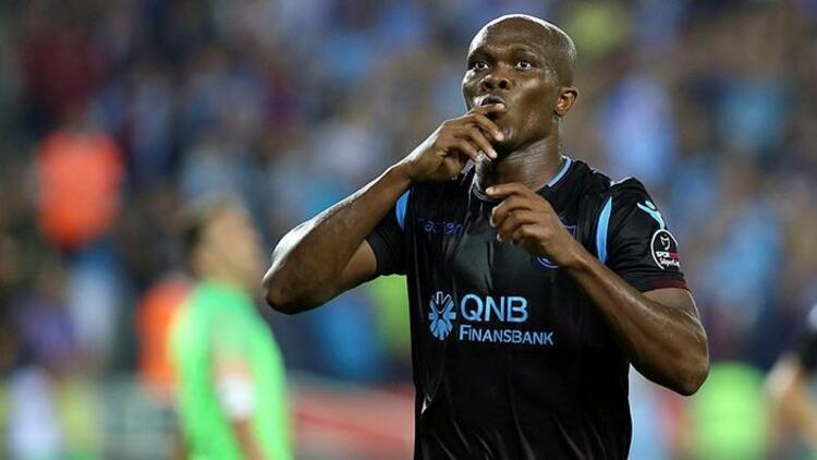 Trabzonspor'da Nwakaeme'nin cezası Fenerbahçe maçına sarktı!